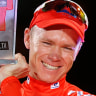 Britain's Chris Froome takes rare Tour de France-Vuelta a Espana double