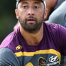 Benji Marshall says he'd bench himself for prelim final against Melbourne Storm