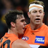 Steve Johnson says he will line up for Greater Western Sydney Giants in preliminary final against Richmond Tigers