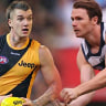 Richmond's Dustin Martin v Geelong's Patrick Dangerfield: Comparing 2017's two best players