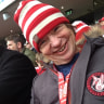 Sydney Swans super fan re-enacts Planes, Trains and Automobiles to make it to the MCG