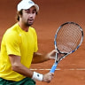 Aussies one win from Davis Cup final after easy doubles win over Belgium