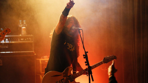 Chevy Metal review: Dave Grohl rocks hard and heavy in secret Sydney gig