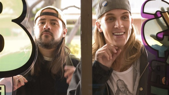 Clerks II starring Kevin Smith and Jason Mewes.