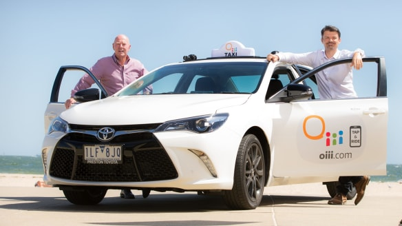 Oiii! New taxis are hitting the road in Melbourne