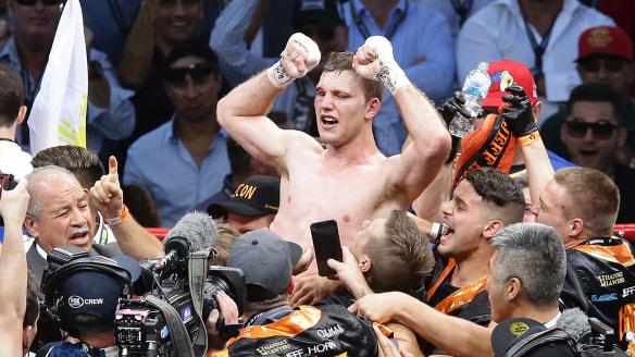 Ready to rumble: Jeff Horn will defend his WBO title in December.