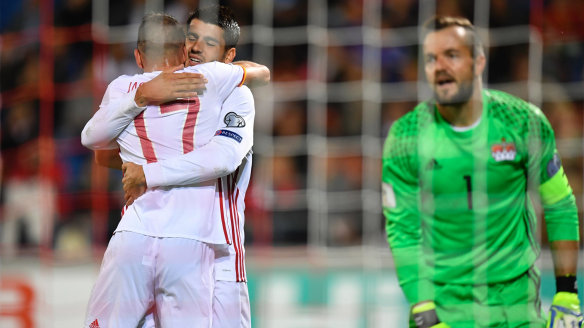 World Cup qualifying 2018: Spain ruthless, Italy stay alive, South Korea in