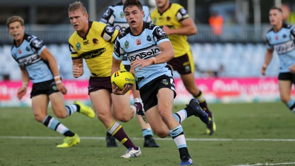 NRL 2018: Cronulla Sharks to blood coach Shane Flanagan's son Kyle in NRL trials
