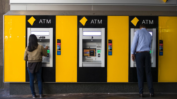 Matt Comyn, group executive, retail banking services, said Australians had complained for some time about being charged fees for using another bank's ATM.