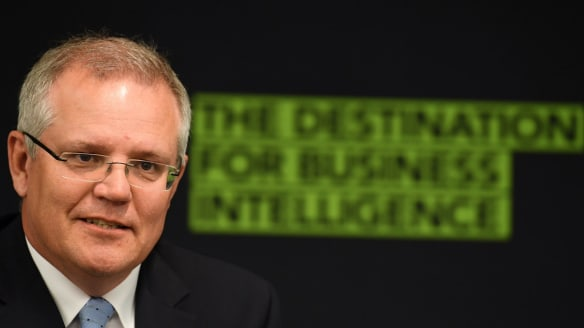 Treasurer Scott Morrison says company tax cuts urgent as he prepares to unveil a new wave of reform