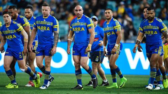 Parramatta Eels lament an 'opportunity thrown away'