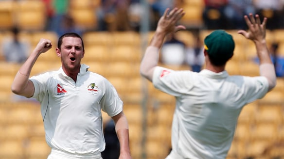 Ashes 2017: Australia fast bowler Josh Hazlewood the rock of pace attack