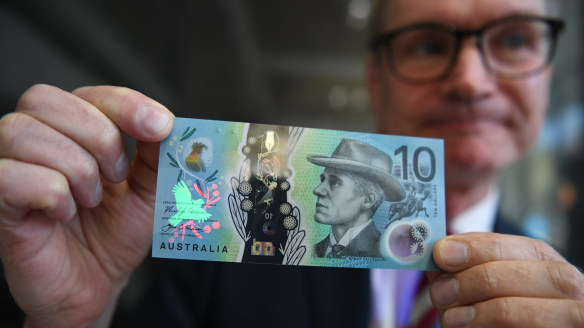 New $10 note comes into circulation this Wednesday