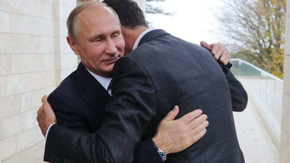 In Russia, Assad thanks Putin for 'saving' his country