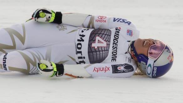 'People are hoping I break my neck': Lindsey Vonn shocked by vitriol after Donald Trump comment