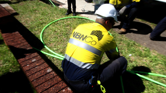 It looks as if an NBN write-down is now seriously in play