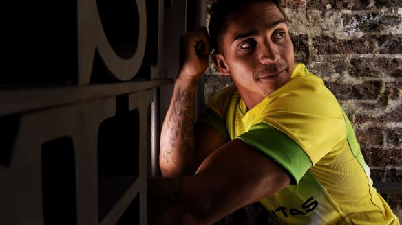 The carpenter from La Perouse who's become the hottest talent in world sevens