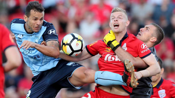 Youthful Adelaide United hold Sydney FC to A-League draw