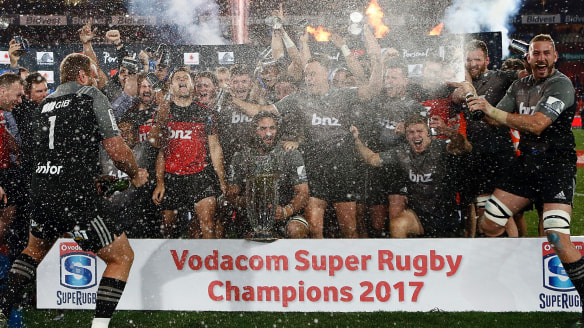 Crusaders beat Lions in Super Rugby final to claim eighth title