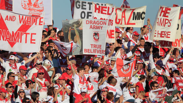 St George Illawarra Dragons biggest losers in Manly Sea Eagles cap bust