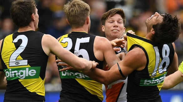 Sydney versus Melbourne? Stick a yellow and black sock in it – it's over