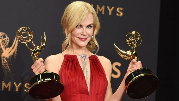 The stars of the Emmys 2017 red carpet were quiet but their clothes were loud