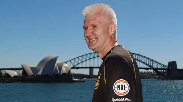 Battle: Andrew Gaze said the Sydney Kings will adopt a physical approach against Utah.