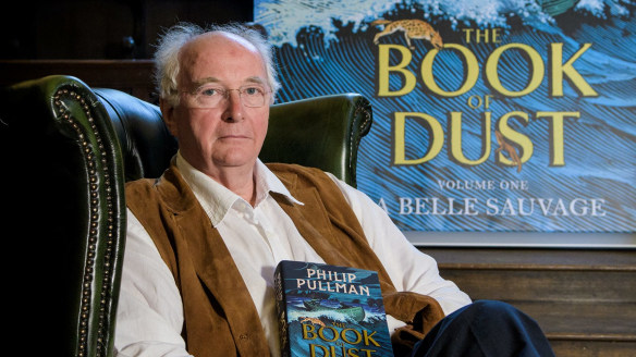 """""""I've been convinced for some time that my daemon is a scruffy, scrawny, shabby old bird with dusty feathers,"""" Pullman says."""