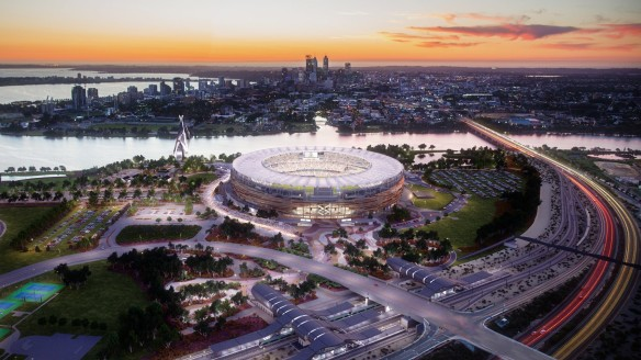 AFL agrees to Perth Stadium move after 'robust' negotiations
