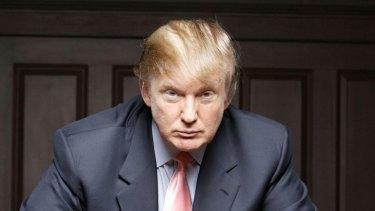 Donald Trump on The Apprentice.
