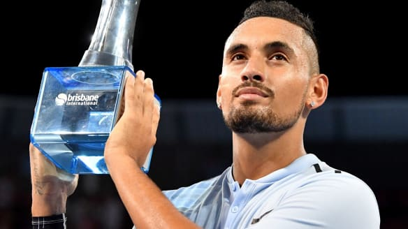 A winner who fought his way to a title: What's not to like about Nick Kyrgios?