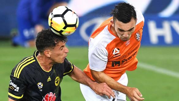 Eric Bautheac joins Brisbane Roar's casualty ward in scoreless draw with Wellington Phoenix