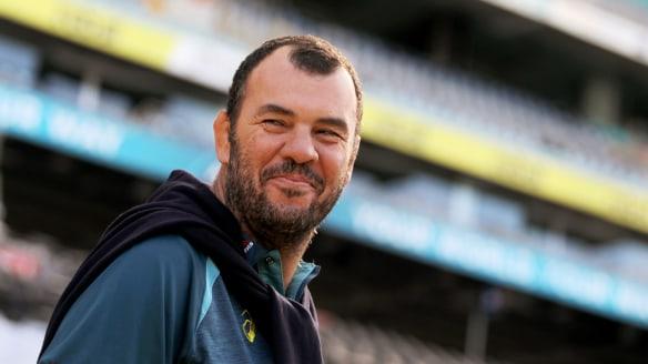Wallabies coach Michael Cheika last month in Sydney.