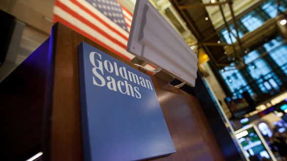 Goldman Sachs investments boost profit amid trading slump