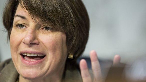Senator Amy Klobuchar, a Democrat from Minnesota
