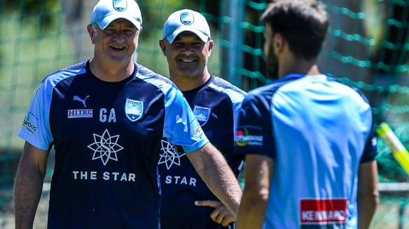 FFA make official approach to Sydney FC coach Graham Arnold for Socceroos job