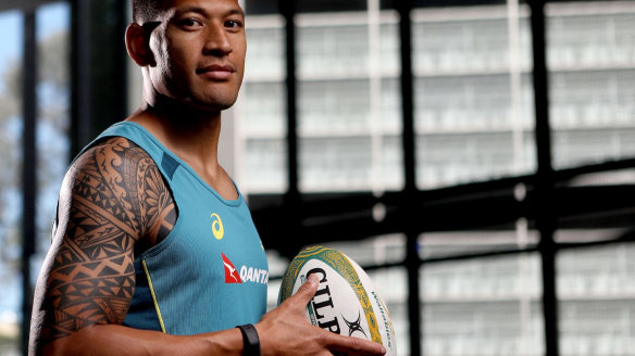 Israel Folau says he is not concerned to be missing a chance to break the world record for most tries in a season.