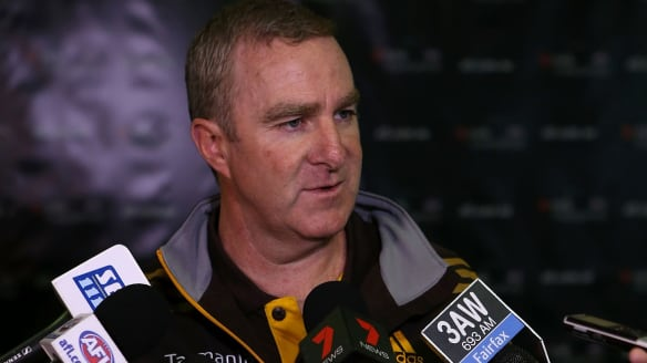 Graham Wright gets his shot at Hawthorn football boss role
