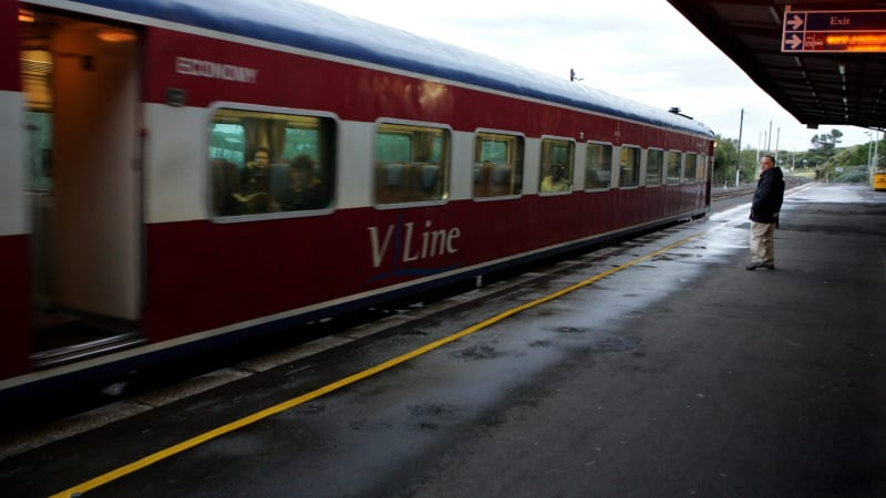 Metro Golf Cars >> V/Line trains banned from Metro network