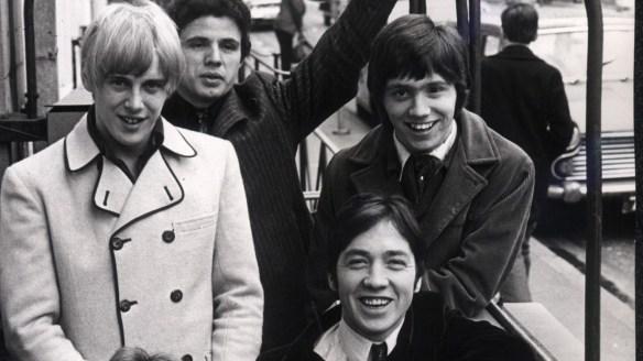 The Easybeats' Harry Vanda, Snowy Fleet, Stevie Wright, George Young and Dick Diamonde.