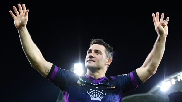 In demand: Cooper Cronk won't be idle if he decides to hang up his boots.