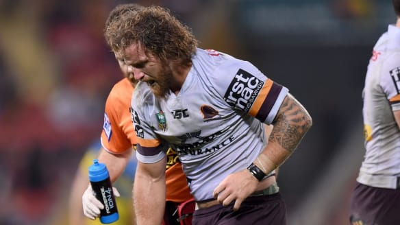 """I was a bit dirty at the timing of the injury but that's football"": Korbin Sims."
