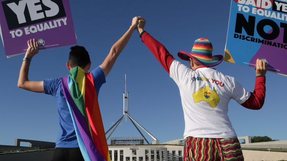 Same-sex marriage paves the way for couples to be recognised as next-of-kin