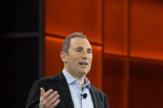 Amazon's new chief executive, company veteran Andy Jassy.