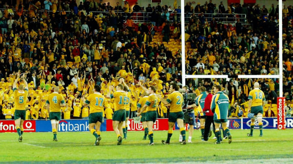 Muted Australian rugby crowds need to come to life... starting Saturday night