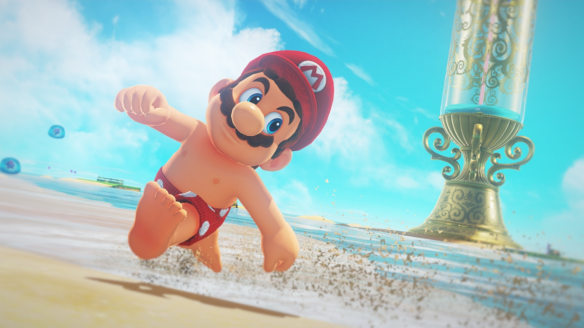 Super Mario Odyssey is weird, brilliant and hilarious
