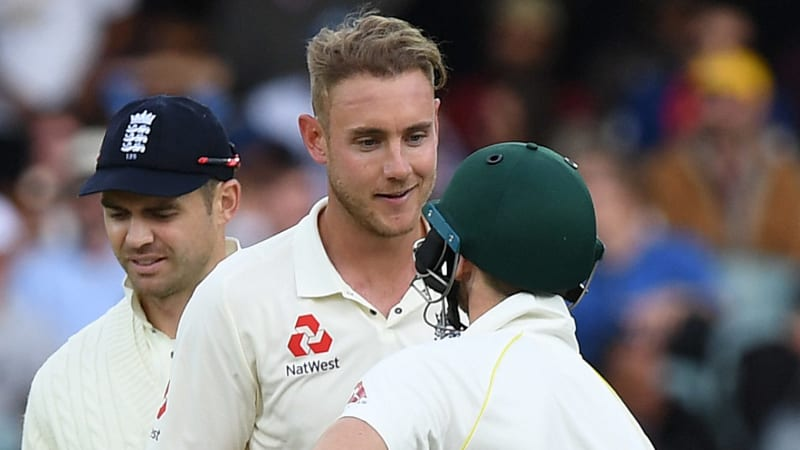 Stuart Broad aiming to bowl like Glenn McGrath in first Ashes Test at Brisbane
