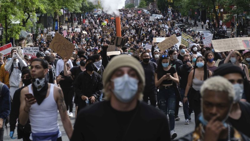 Tablet interactive: Protests across the US