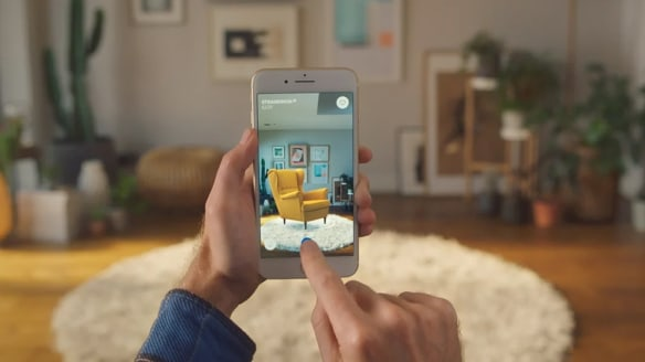 IKEA's new augmented reality app means you're never not at IKEA