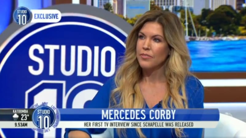 Mercedes Corby Marks Media Return With Awkward Appearance On Studio 10